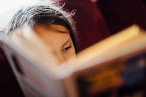3rd grader reading