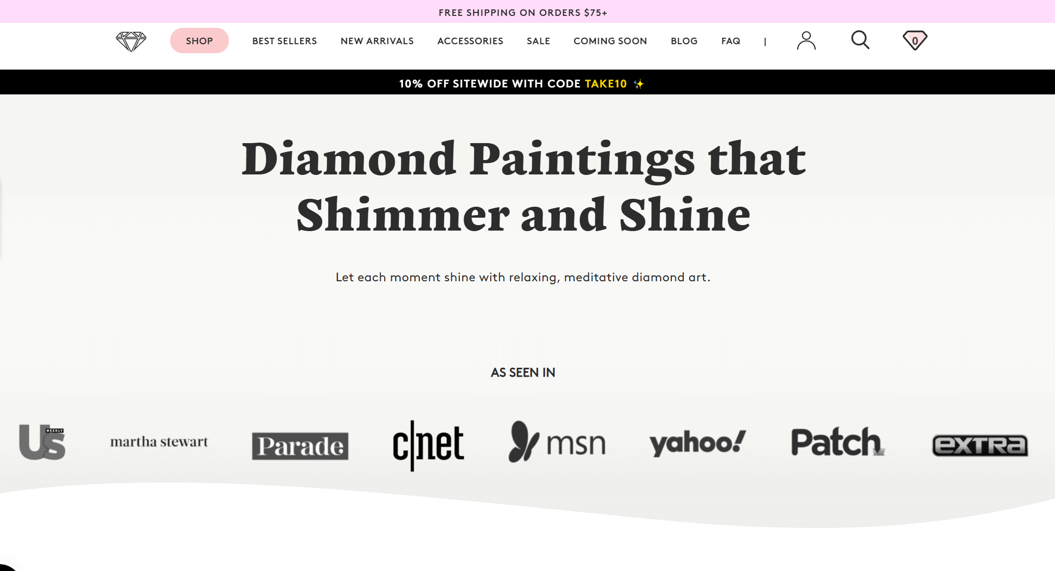 diamond art club website