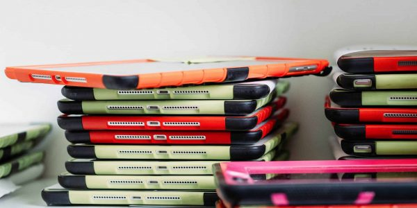 stack of ipads