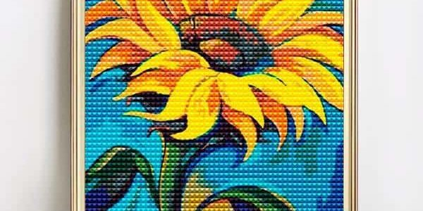 diamond art sunflower