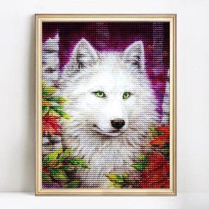 diamond art fox