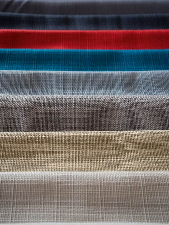 lines of fabric