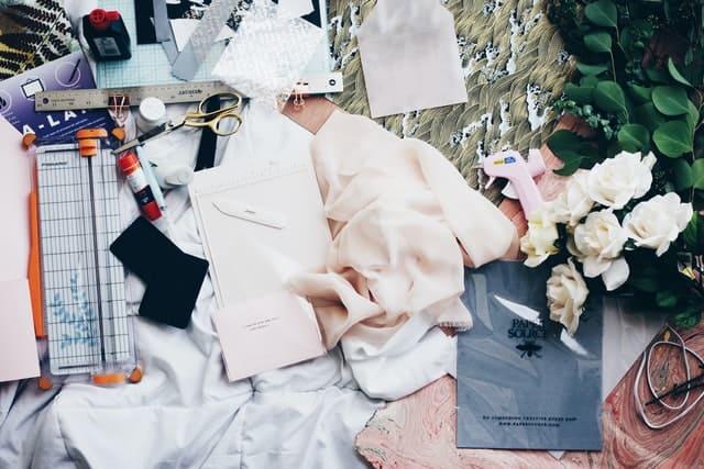 fabric and glues